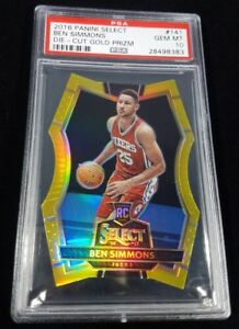 POP-1-16-17-SELECT-BEN-SIMMONS-RC-GOLD-DIE-CUT-PRIZM-REFRACTOR-PSA-10-10-1-1