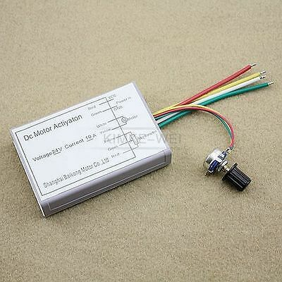 24V 10A DC Motor Speed Control PWM HHO RC Controller