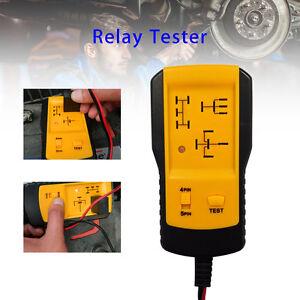 12V-PER-AUTO-RELE-Tester-Rilevatore-AUTO-diagnostico-strumento-portatile