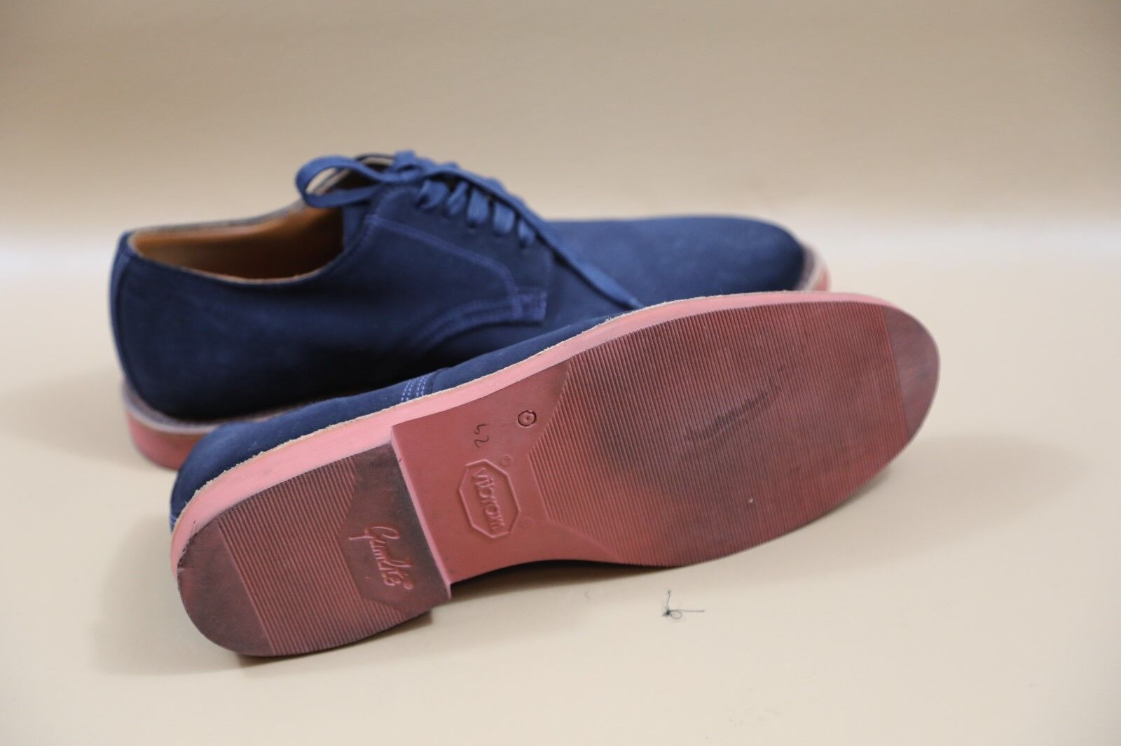#374 Walk-Over Blue Leather Oxfords Size 10  MADE… - image 4