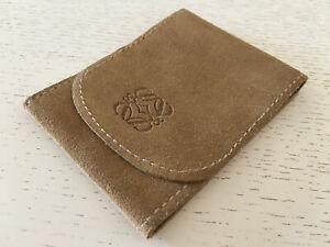 Used - Travel Case Loewe Estuche De Viaje - 11 X 8 Cm - Leather Piel - Usado
