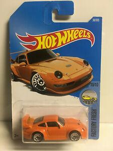 2016-Hot-Wheels-Factory-Fresh-Porsche-911-993-GT2-10-10-NEW-IN-PACKAGE