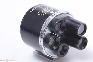 ✅ ZEISS TURRET 440 FRAME FINDER VIEWFINDER RF CAMERA 21 35 50 85, 135MM LENSES