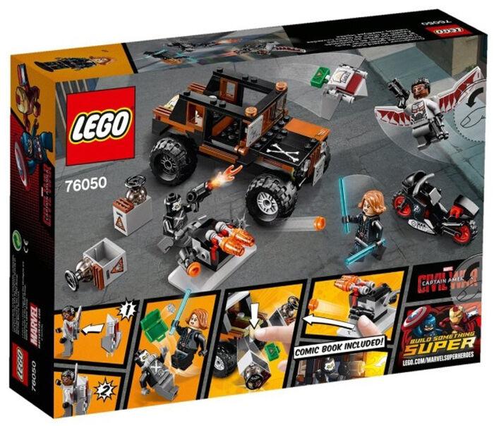 LEGO 76050  Super Heroes MARVEL Avengers Crossbones' Hazard Heist Heist Heist (New sealed) 39e462