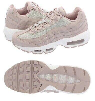 NEW WOMEN NIKE AIR MAX 95 SE AT0068 600 PARTICLE ROSE PINK PLATINUM WHITE SZ 6.5 888507768988 | eBay