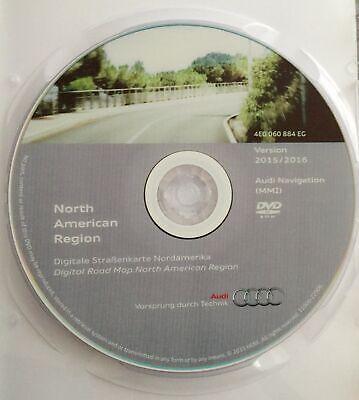 2016 audi mmi 2g navigation dvd north america usa gps map update 4e0060884eg ebay. Black Bedroom Furniture Sets. Home Design Ideas