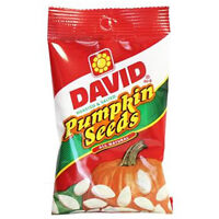 David Seeds Original Pumpkin Seeds, 5 Oz Bags (Pack Of 12) Food and Drink