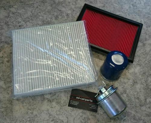 Inspektionspaket Wartungskit Filter Honda Civic VI 1,4 1,5 1,6 1995-2001 Klima