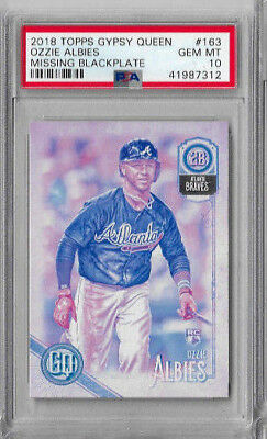 2018 Topps Gypsy Queen #163.1 Ozzie Albies Atlanta Braves RC Rookie Card