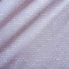 Stoff Meterware Baumwollstoff flieder lavendel Schrift Handschrift Frankreich