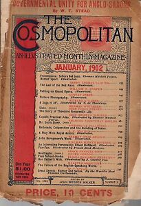 1902-Cosmopolitan-January-Teddy-Roosevelt-039-s-Life-John-Barrymore-Last-Indians