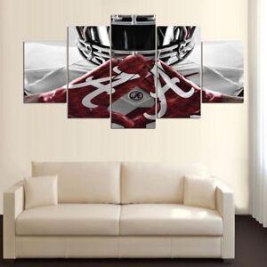 Framed Canvas Five Piece Wall Art