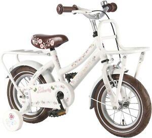 kinderfahrrad liberty cruiser 12 zoll wei m dchen fahrrad mit r cktrittbremse ebay. Black Bedroom Furniture Sets. Home Design Ideas