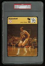 PSA 10 JERRY WEST Sportscaster Basketball Card #08-10 ITALY