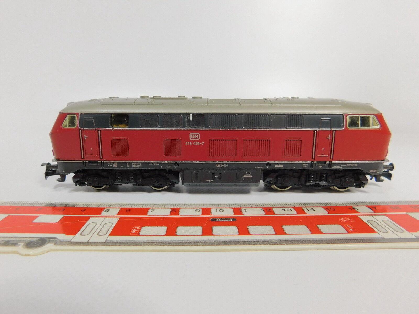 Aq633-2   /Marklin h0/ac 3075 Diesel/Diesel locomotiva 216 025-7 DB