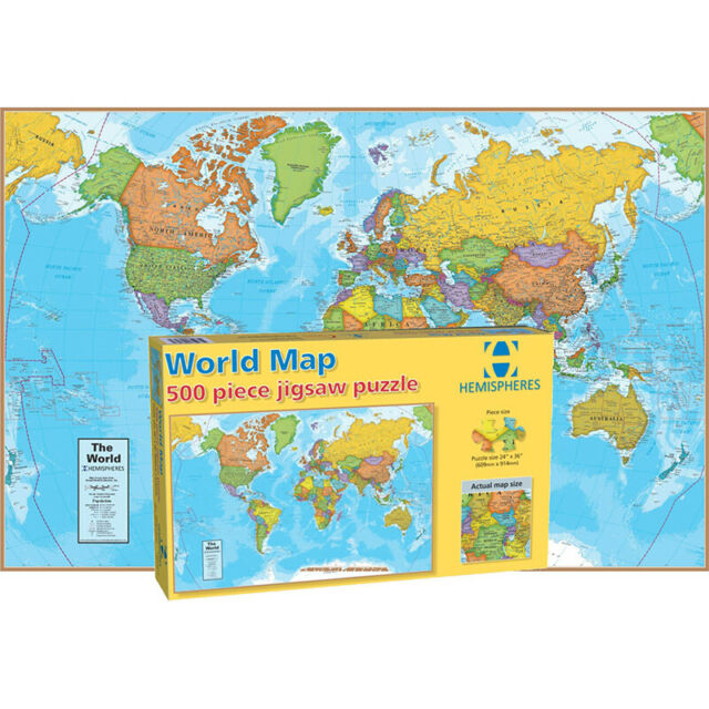 Ravensburger 17411 Antique World Map 5000 Pieces Jigsaw Puzzle