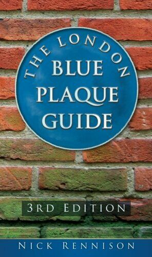 The London Blue Plaque Guide by Rennison, Nick Paperback Book The Fast Free