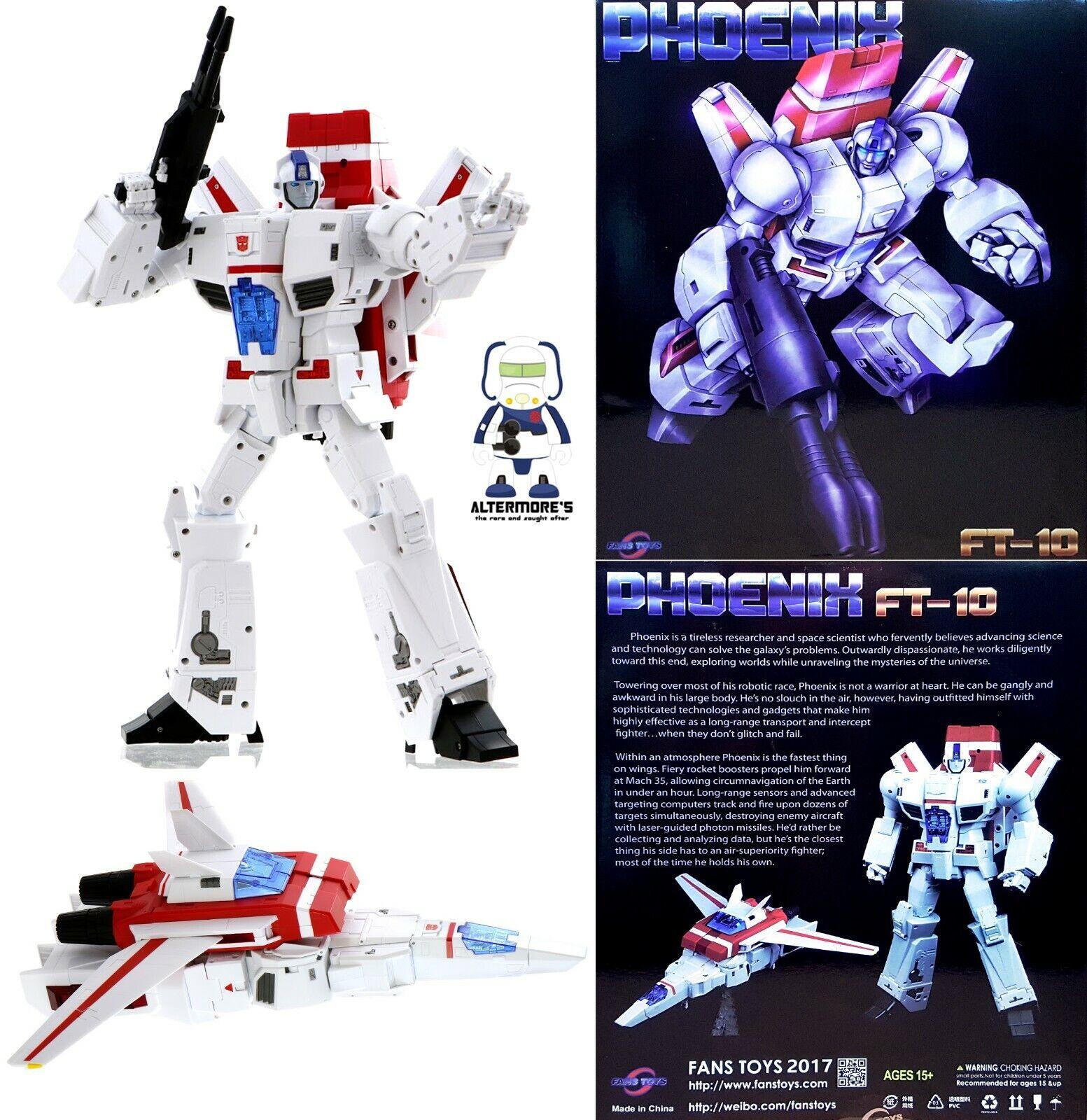 Transformers obra maestra FansJuguetes FT-10 Phoenix reedición también conocido como Jetfire sin usar y en caja sellada