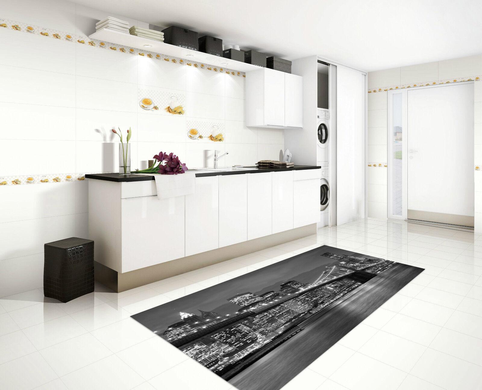 Stampe Da Cucina : 3d nuovo york 072 tappeto da cucina pavimento parete muro parete