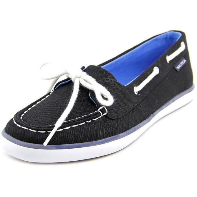 Nautica Pinecrest   Moc Toe Canvas  Boat Shoe
