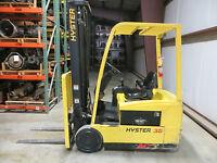 2007 HYSTER 35 J35ZT FORKLIFT TRUCK LIFT 3500 LB 36V ELECTRIC ONLY 533 HOURS