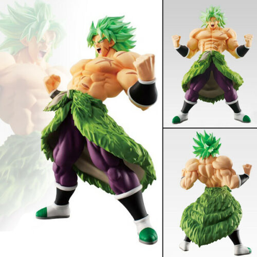 Collections Anime Jouets Dragon Ball Z Broly Green Hair Figurines Statues 16cm