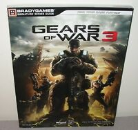 Gears Of War 3 Unread Strategy Guide Xbox 360 Shooter Epic Games Unreal