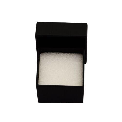 Noir Spinelle Pierre Argent 925 empilable Eternity Band Femmes Mariage Chevron Ring