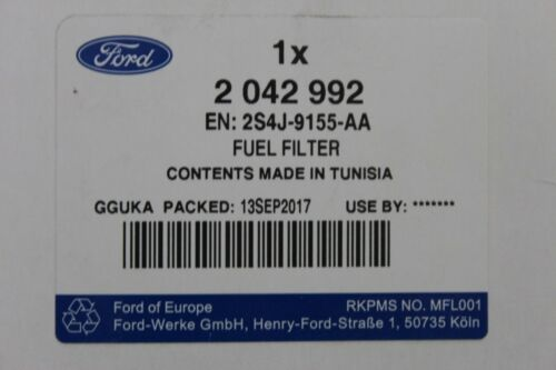 ORIGINALE FILTRO COMBUSTIBILE 1,8 DIESEL FORD FOCUS 75//90ps Connect 75ps 2042992