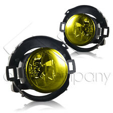 For 10-15 Frontier 05-14 Xterra Fog Lights w/Wiring Kit - Yellow
