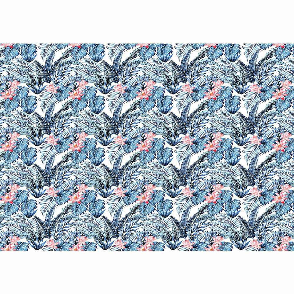 Foto Mural Diseño Mosaico Flamingo Pájaro Zebra Hoja Liwwing N°4383