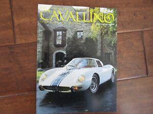 VINTAGE-CAVALLINO-FERRARI-MAGAZINE-NUMBER-68-April-1992-250-LM