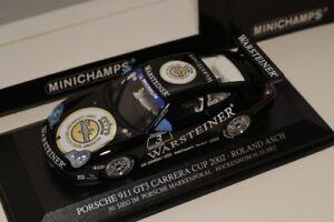 """1/43 Minichamps Porsche 911 Gt3 Cup """"étais Une"""" Roland Asch 2002-afficher Le Titre D'origine Avec Les éQuipements Et Les Techniques Les Plus Modernes"""