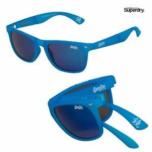 Superdry-Supergami-Neon-Blue-Folding-Sunglasses