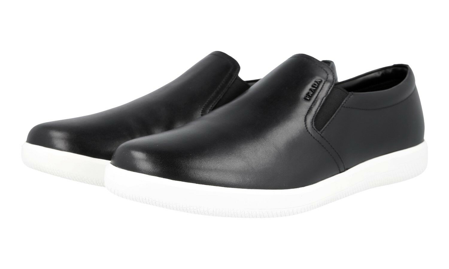 shoes PRADA LUSSO 4D2776 black NUOVE 7 41 41,5