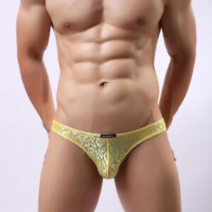 Underpants-Men-Underwear-Sexy-Low-Waist-Lingerie-Panties-Shorts-Bikini