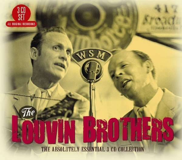 Louvin Brothers The - The Absolutely Essential 3 CD Nuevo CD