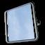 miniatura 12 - Badezimmerspiegel Kippspiegel Spiegel für barrierefreies Bad 60x60 cm