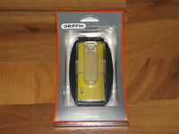 Griffin Iclear Case With Armband Belt Clip For Ipod Nano 5th Generation