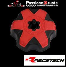 tappo serbatoio racetech soft touch rosso red valvola tank cap suzuki rm rmz