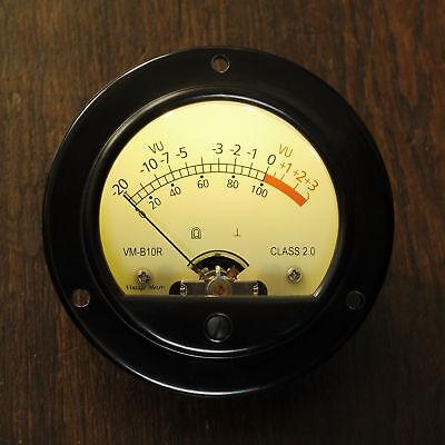 Aggressiv Vintage-meters Vm-b10r Retro Vu-meter, Led-illuminated (compressor, Diy, Studio) Online Shop