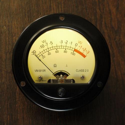 Compressor, DIY, Studio LED-Illuminated Vintage-Meters VM-B10R Retro VU-Meter