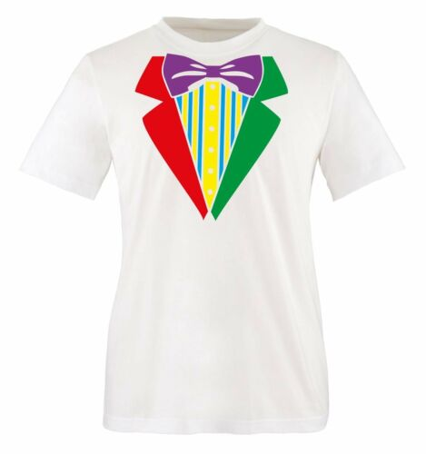 Comedy Shirts-Clown Costume II-T-Shirt hommesmardi gras