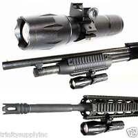 300ft Range 1000 Lumens Led Light Tactical Outdoor Hunting Led Rifles Shotgun.