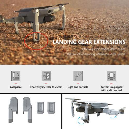 4 STÜCKE Erweiterte Fahrwerk Beinstütze Schutz Für DJI Mavic Mini Drone Zubehör