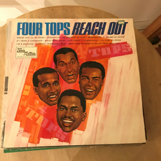 LP, FOUR TOPS, Pop, FOTO