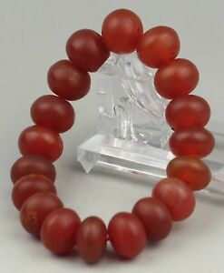 Image Is Loading China Old Jade Chinese Natural Agate Beads