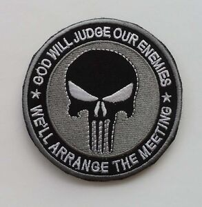 NEW-THE-PUNISHER-SF-SEALS-skull-Patch