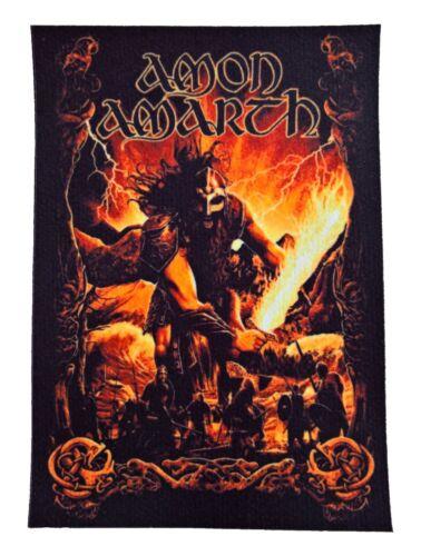 Amon Amarth patch DIY printed new textile patches rock death metal heavy thrash