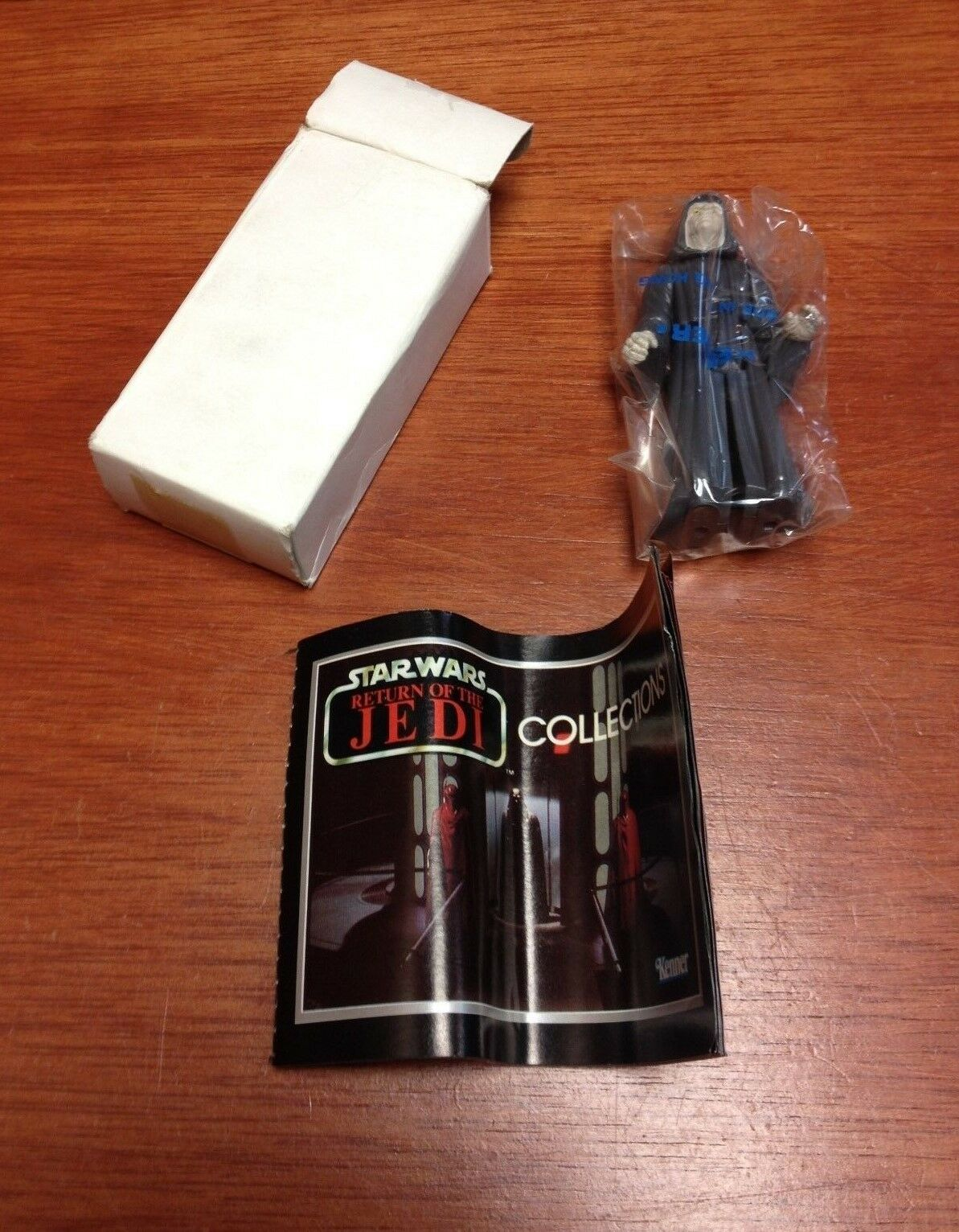 Vintage Star Wars Return of the Jedi The Emperor in Kenner Wrapper and Box